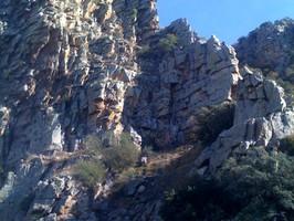 Cresta de Embid muy conocida por los aficionados al alpinismo